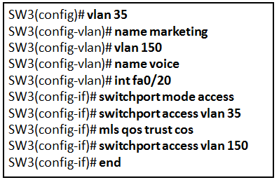 CCNA 2 v7 Modules 1 - 4: Switching Concepts, VLANs, and InterVLAN Routing Exam Answers 1