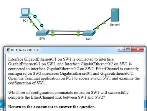 CCNA-2-v7-Modules 5 - 6 Redundant Networks Exam 07